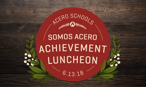 Graphic  to promote Somos Aceros luncheon