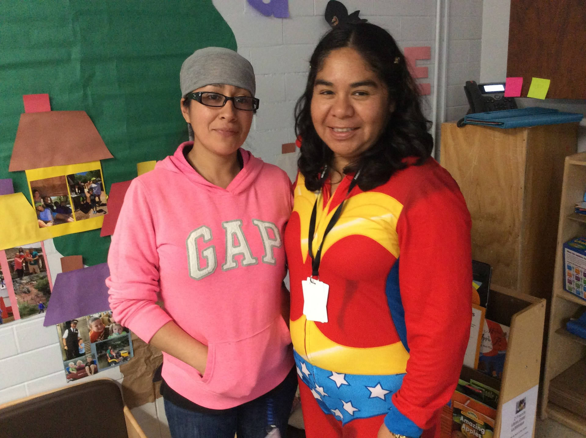 Yesenia and Patty
