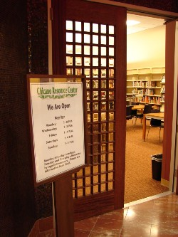 Chicano Resource Center at the ELA Library