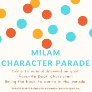 Milam Character Parade
