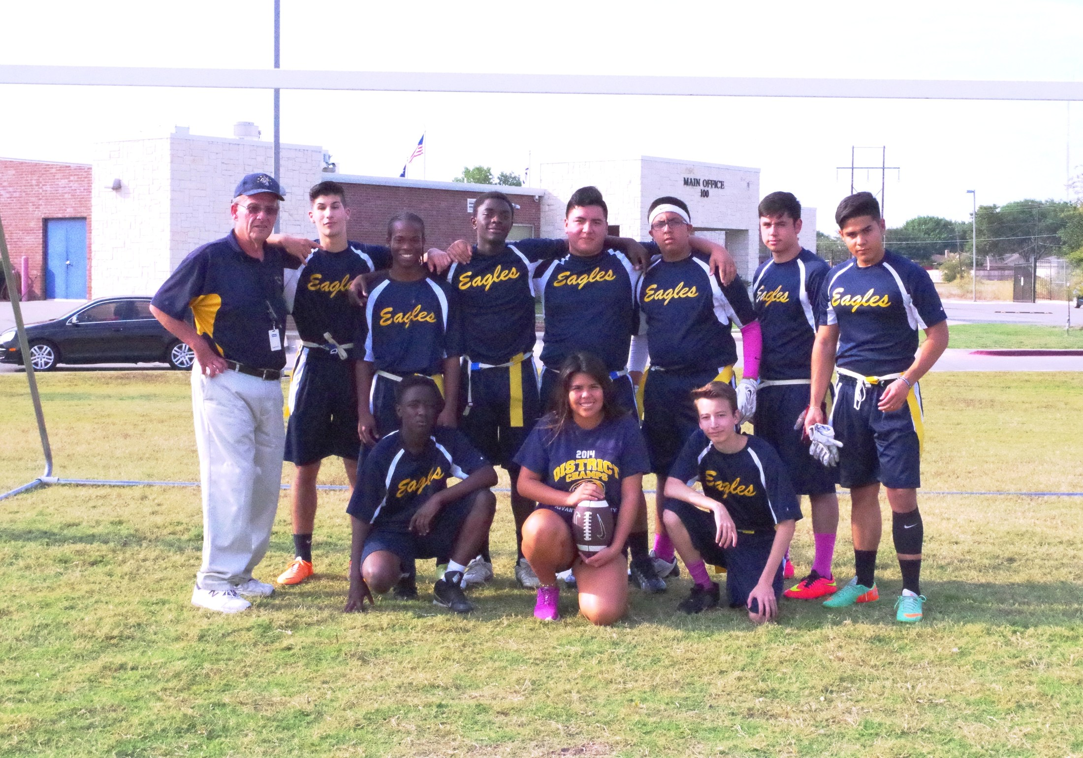 Eagles flag football team
