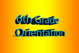 6th Grade Orientation Wednesday May 3rd Thumbnail Image