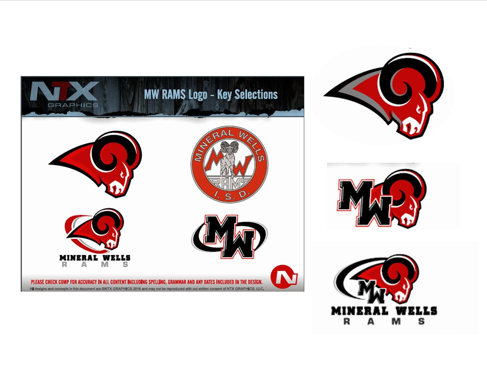 approved MWISD logos