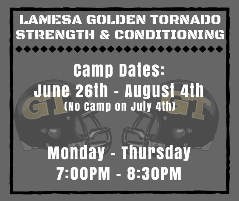 Summer Strength and Conditioning for Boys Athletics, Grades 7-12 begins Monday, June 26th Thumbnail Image