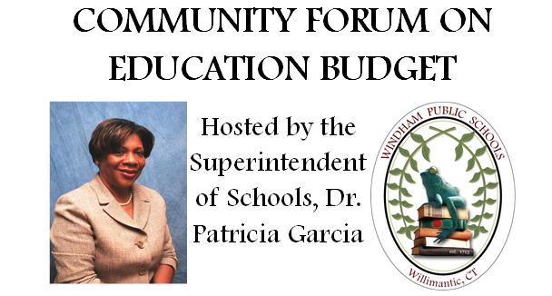 2nd Community Education Budget Forum Thumbnail Image