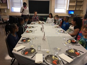 Etiquette Club at Western Hills
