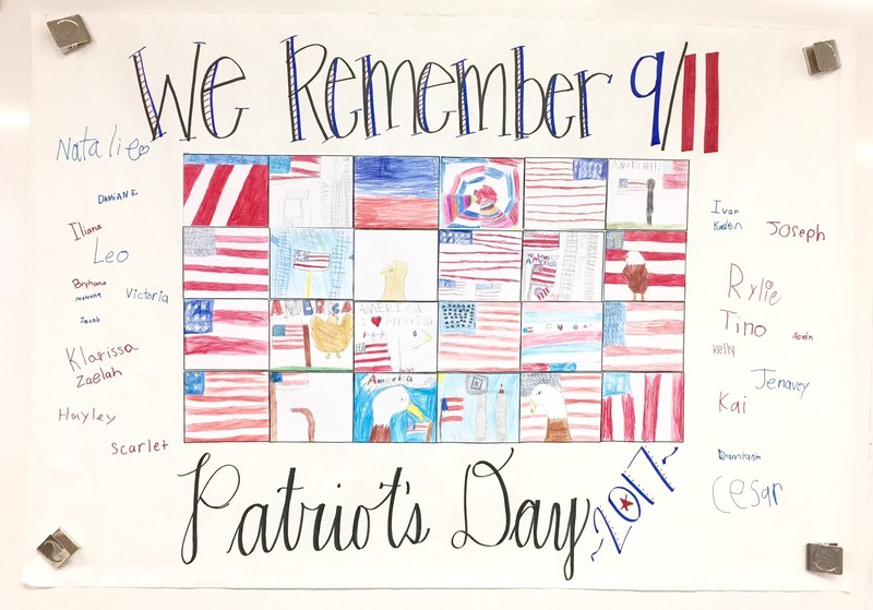 McCabe Students Honor the Fallen and Heroes of September 11th Thumbnail Image