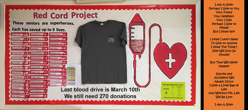 Red Cords Blood Drive