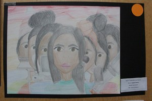GWC student artwork winner portrait
