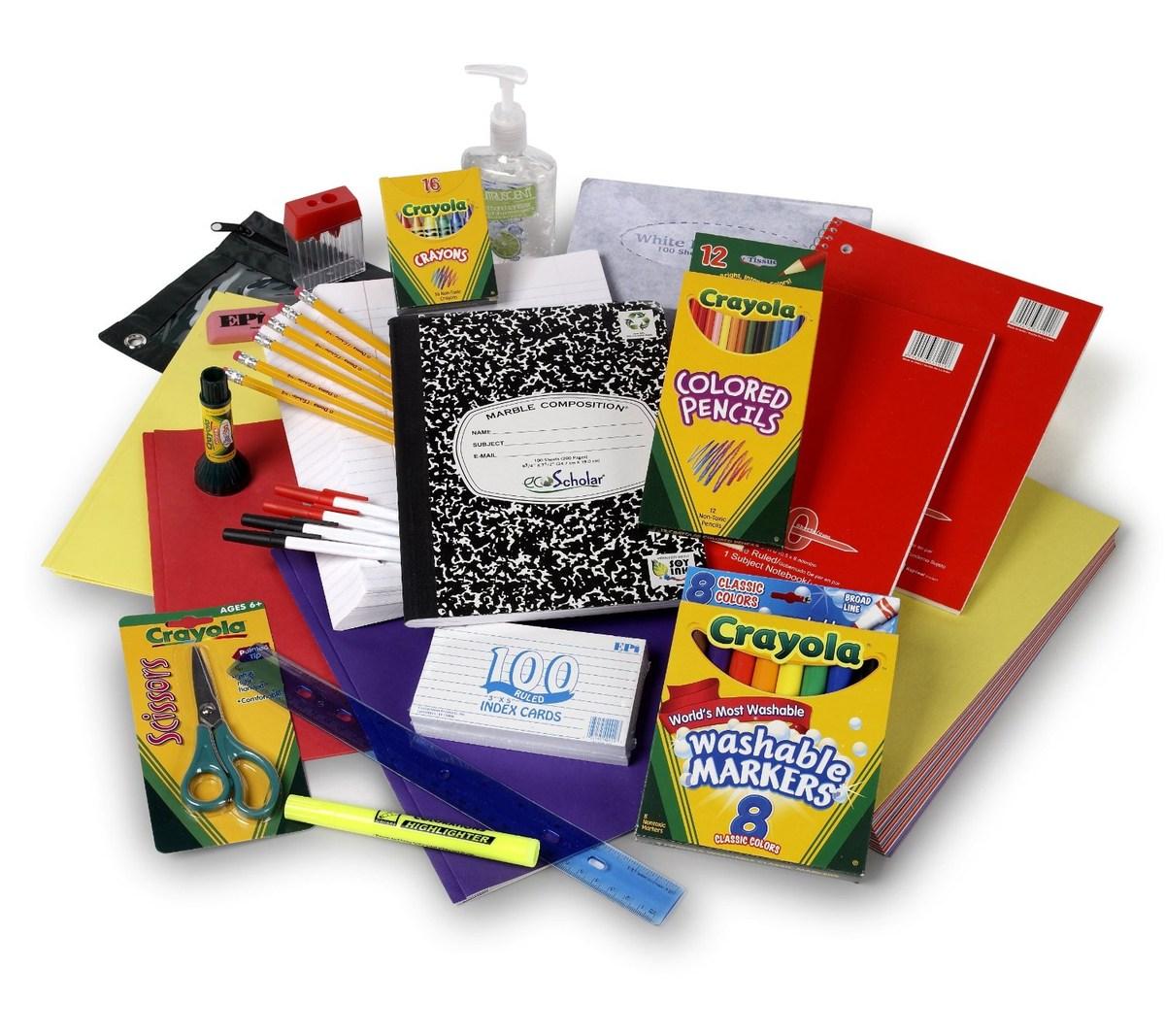 Home School Supply Lists Fairfield City School District