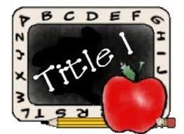 Title 1 logo with apple