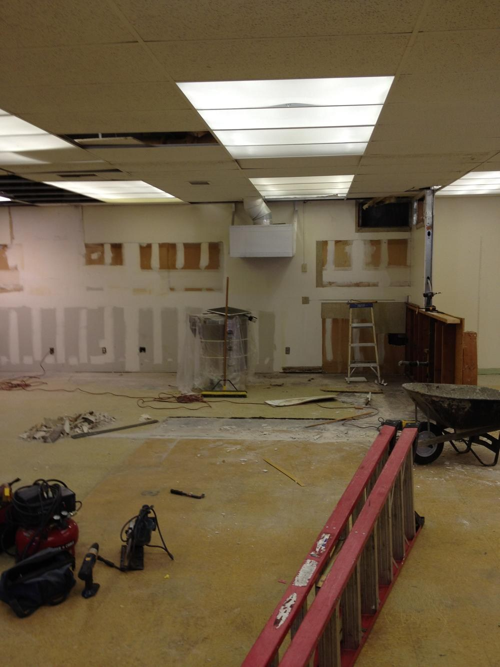 Rancho Starbuck Art Room Remodel