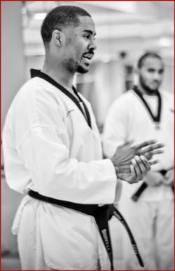 Master Forsythe teaching class
