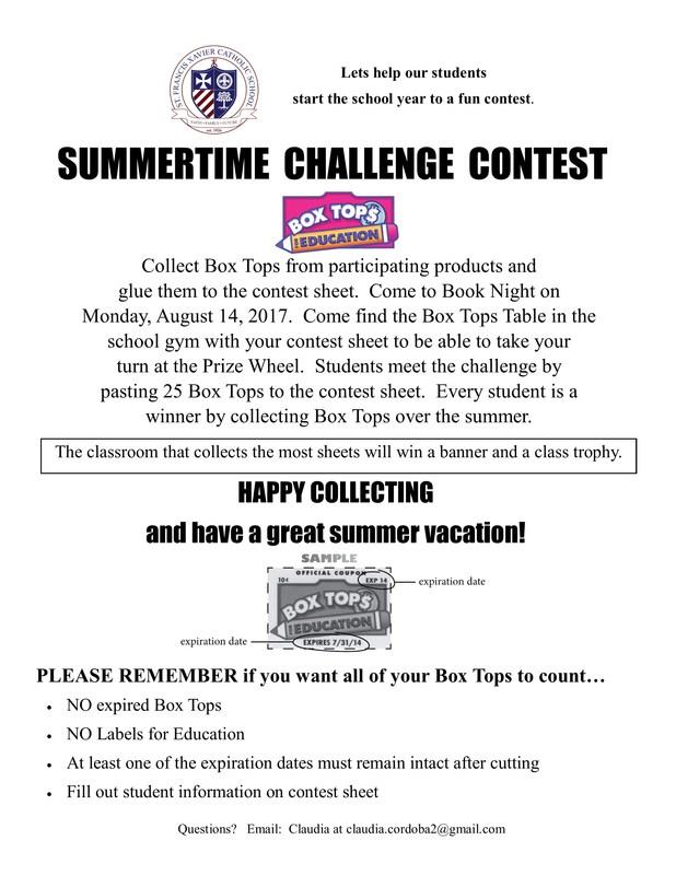 Summertime Challenge Contest