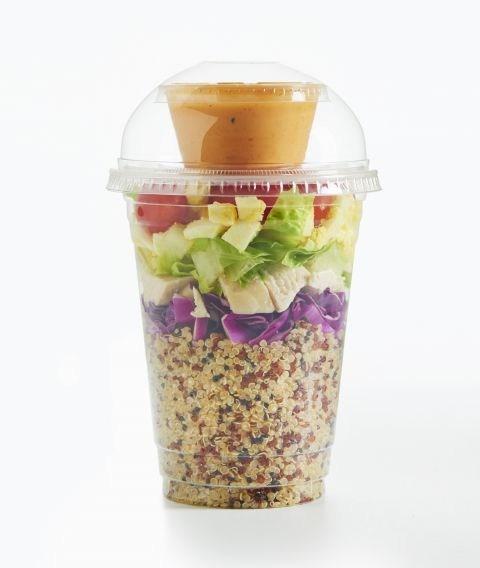 Shaker Quinoa Cobb Salad