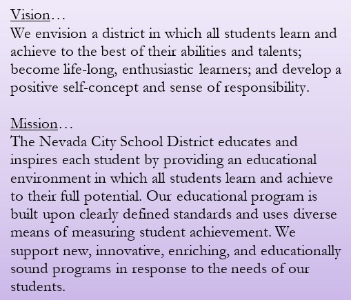 Nevada City School District