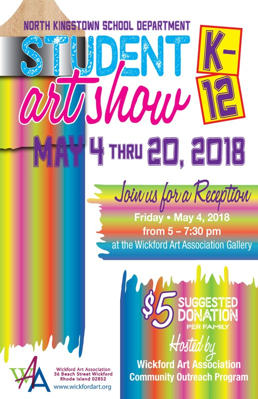 North Kingstown School Department Student Art Show Featured Photo