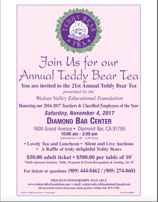 It's Teddy Bear Tea Time! Featured Photo