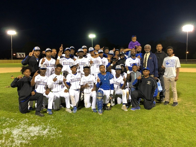 Natchez High School Baseball Team wins the first district title since 1999 Thumbnail Image