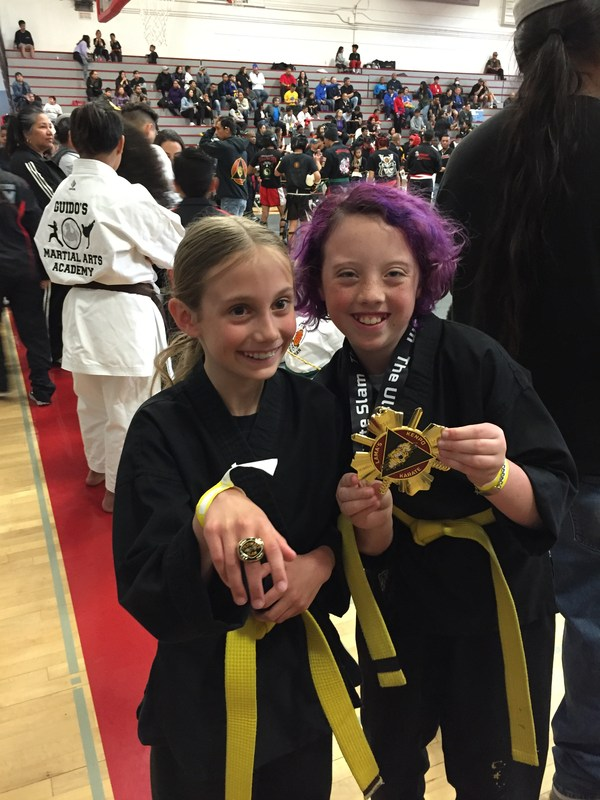 Savanna takes First Place in Karate! Thumbnail Image