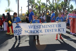 Westminster School District Banner