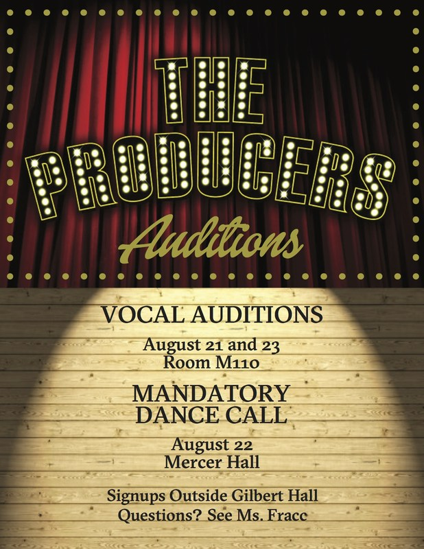 Calling All Actors, Singers and Dancers! Fall Musical Auditions are Just Around the Corner! Thumbnail Image