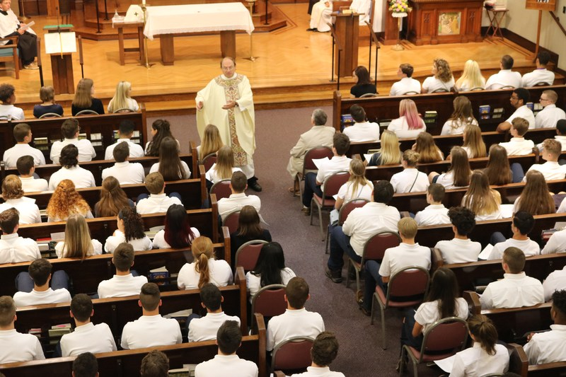 2017-2018 School Year Begins with Mass Featured Photo