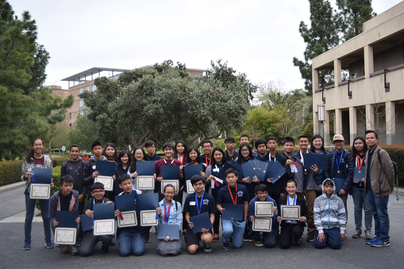 Congratulations STEM members @ MESA competition, UCI Thumbnail Image