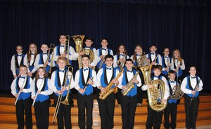 BBJH Band--Region(back row) & Honorable Mention(front) 11-12-15 crop (2).jpg