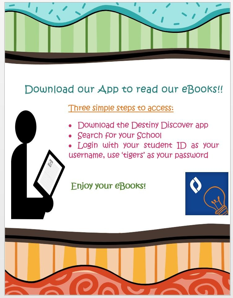 Ebook App Instructions