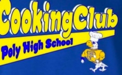 Cooking Club Flyer