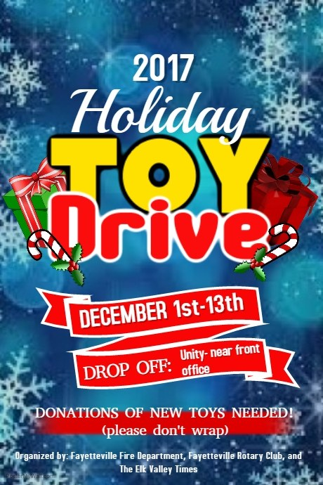 Holiday Toy Drive! Featured Photo