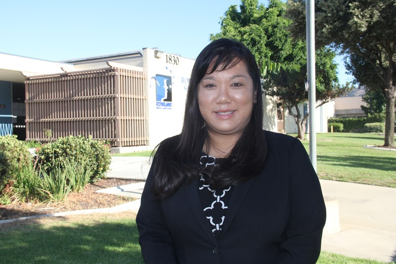 New Principal Amy Grigsby