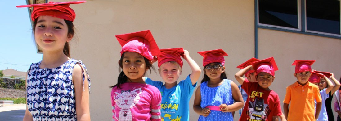 Kindergartners Graduating