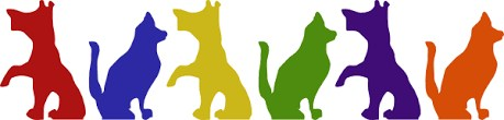 dogf and cat clipart