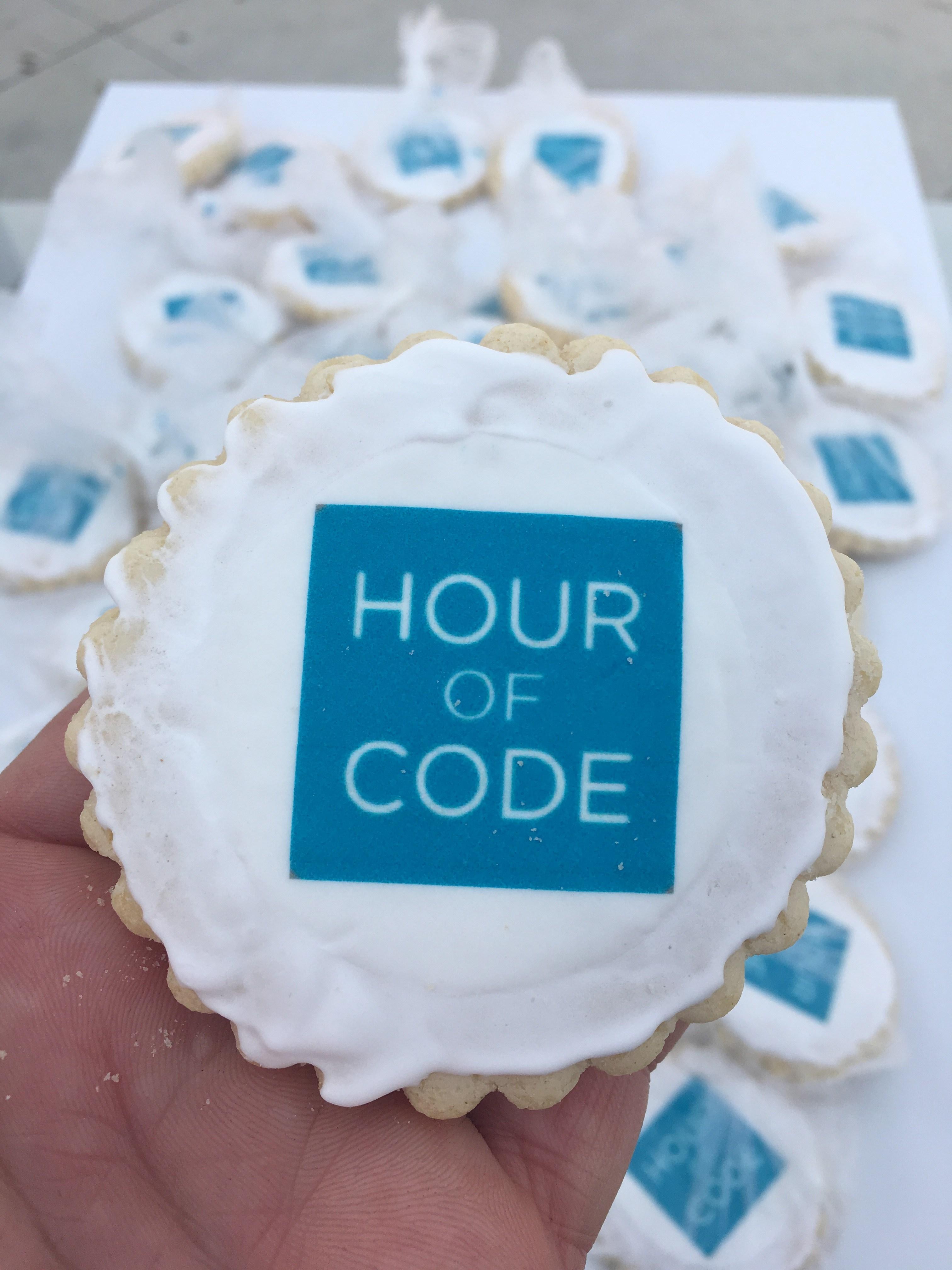 Hour of Code Cookie