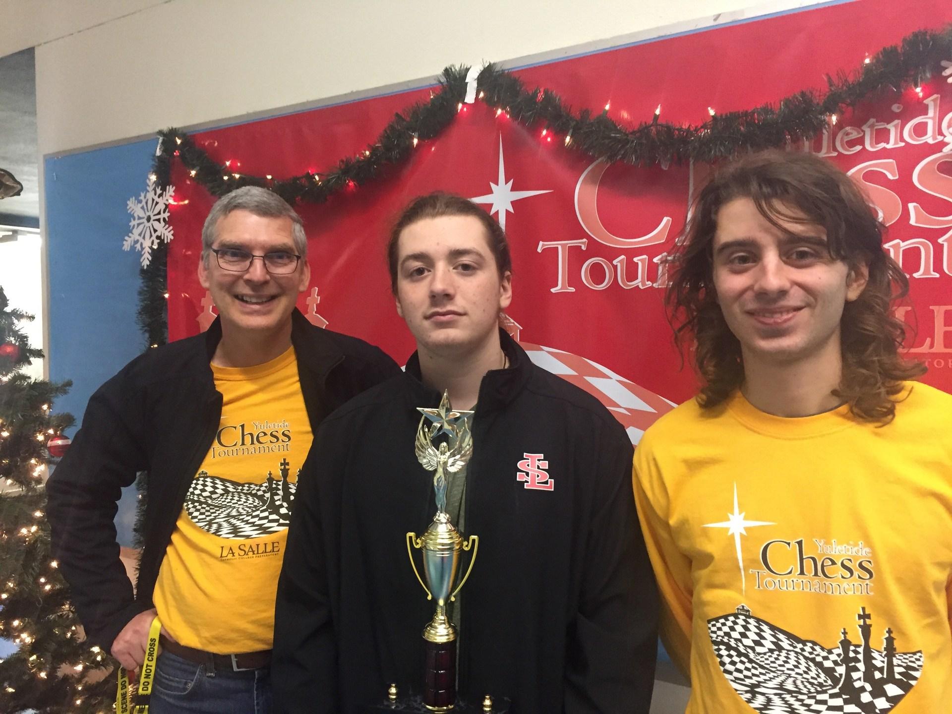 chess tournament trophy winner