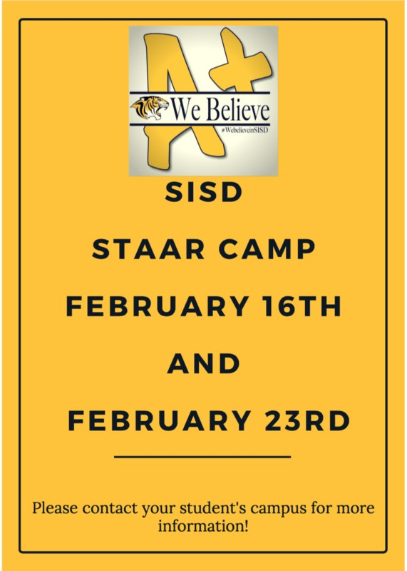 SISD STAAR CAMP Featured Photo