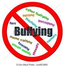 No Bullying circle