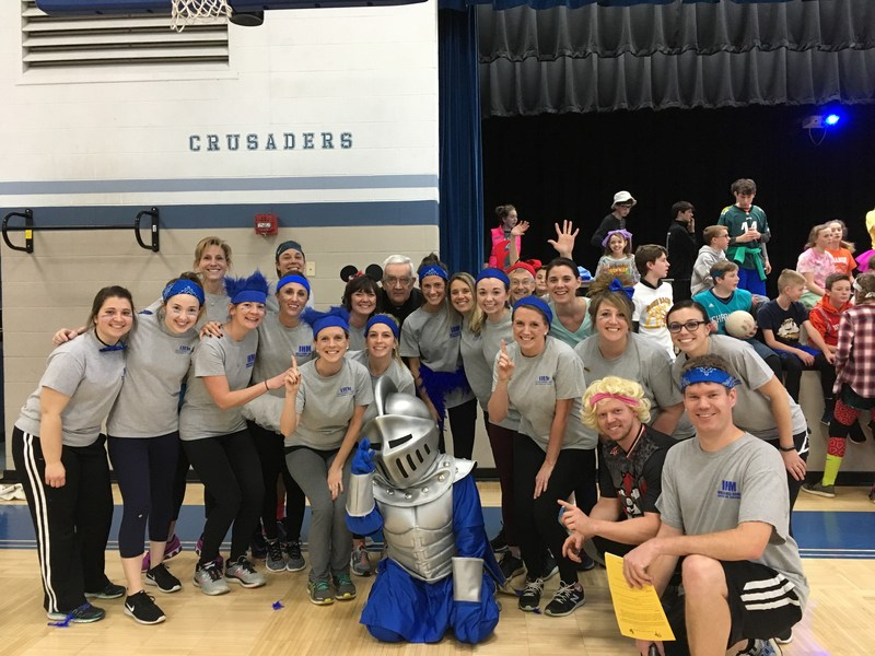 8th Graders Win Annual Teacher vs. Students CSW Volleyball Game Thumbnail Image
