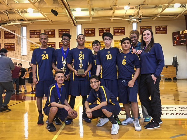 Boys' Volleyball Takes Bronze Featured Photo