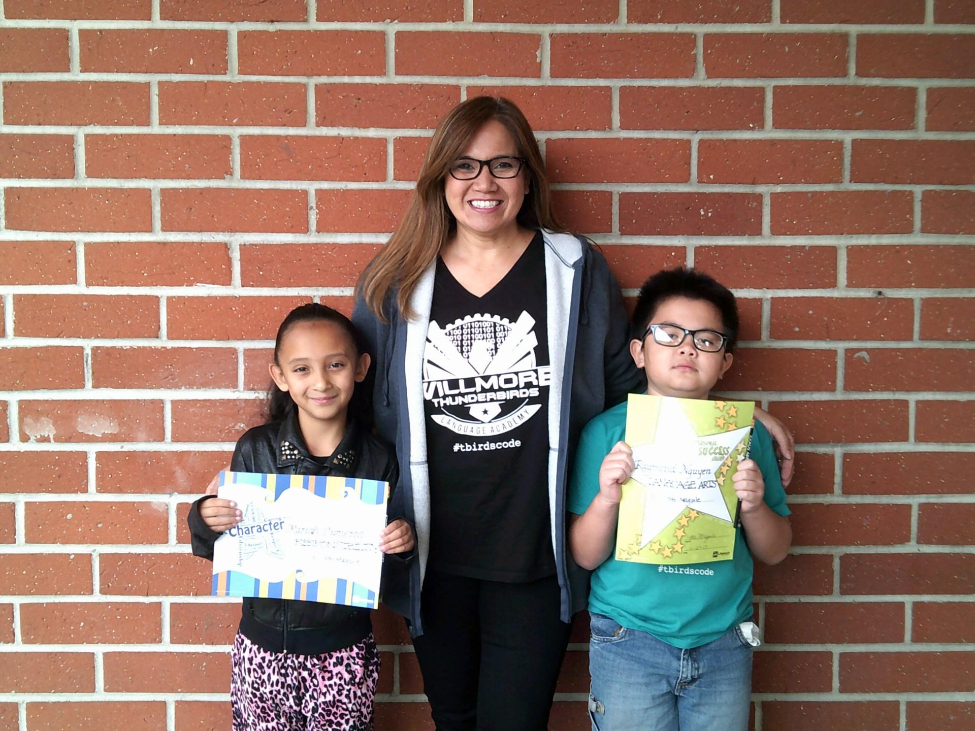 Ms. Magpile's November Honorees
