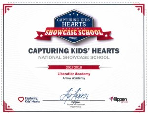 Liberation CKH National Showcase School Award 2017-2018