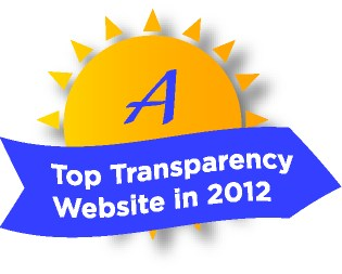 2012 Sunny Award for Top Transparency
