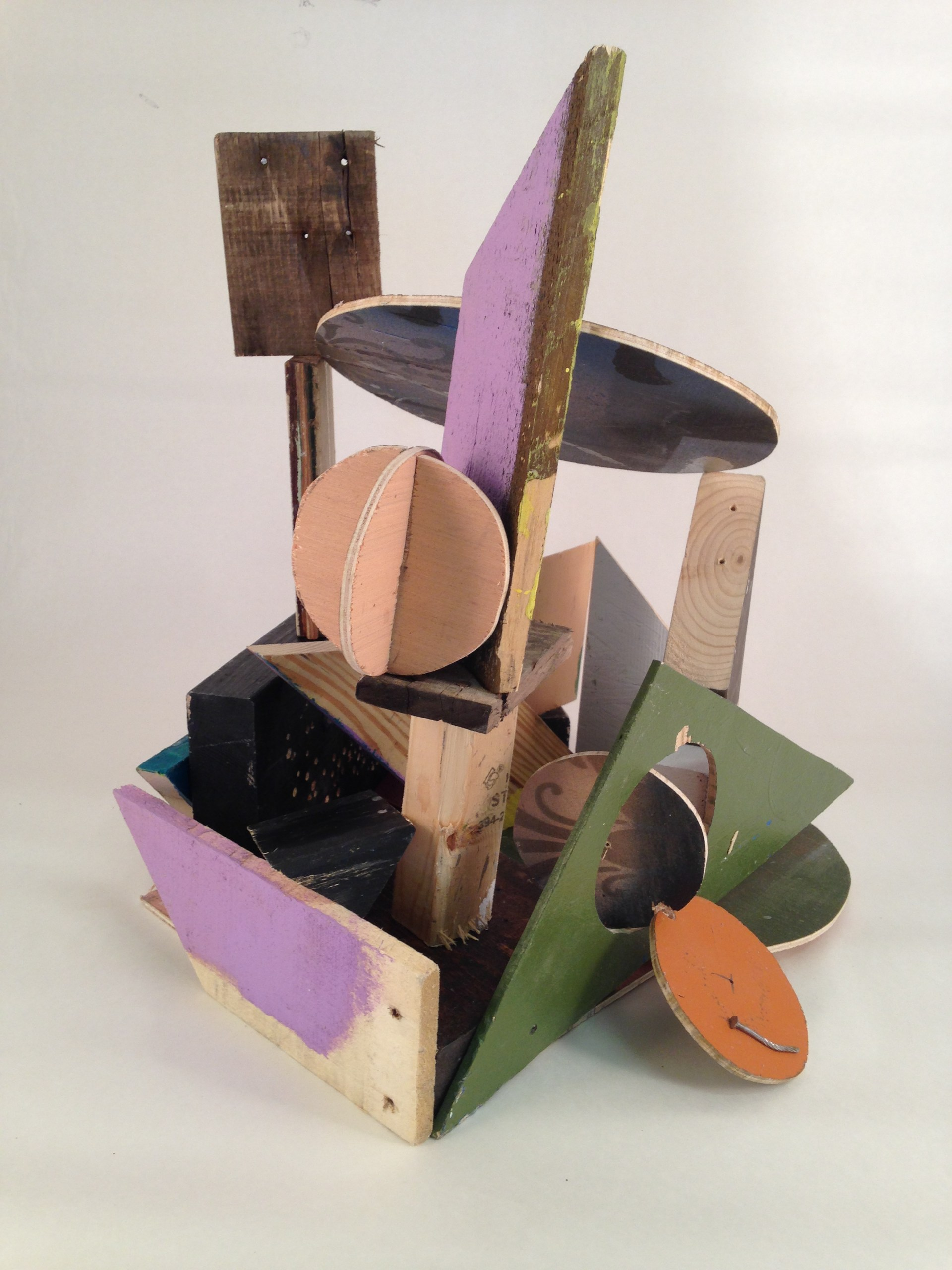 Wood shape sculpture