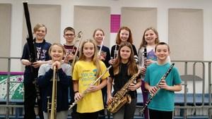 5th Grade Solo Festival Participants