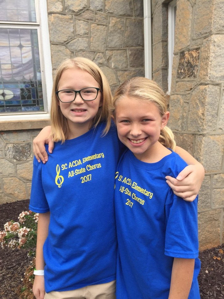SC ACDA Elementary All-State Honor Choir