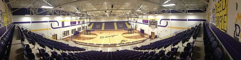 Picture of the Sanger High School Gymnasium