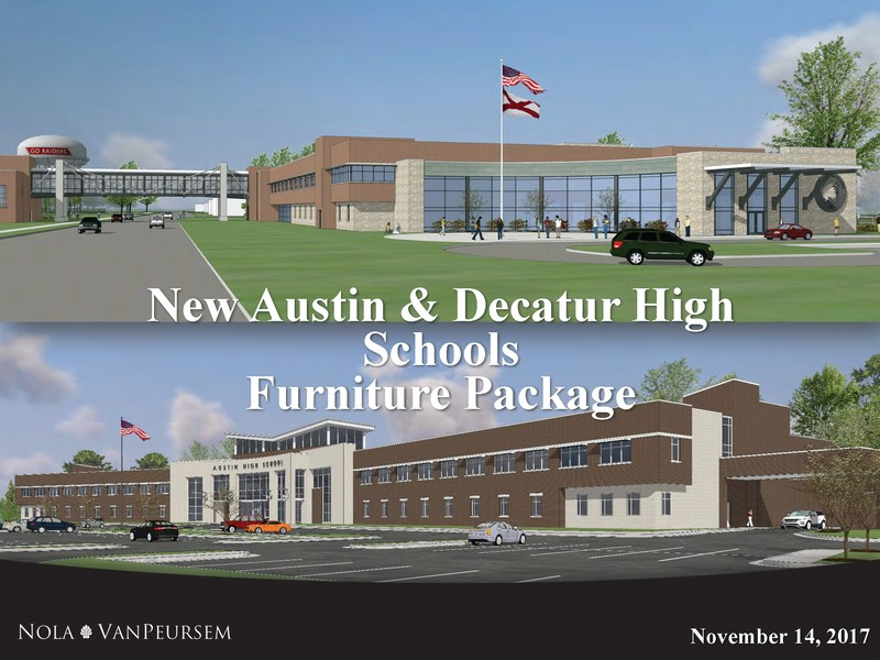 New Austin and Decatur High Schools Furniture Package Featured Photo