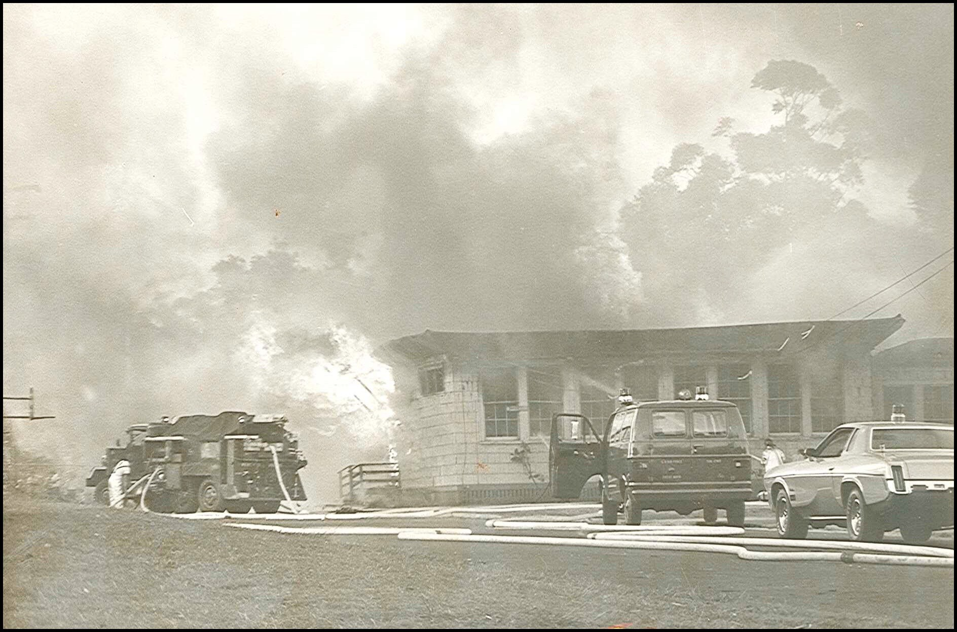 1972 Fire at Wheeler El